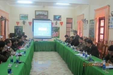 MB Phong Nha - Ke Bang held a conference on scientific research in 2014